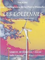 Les Éoliennes d'Anne-Frédérique Rochat   Compagnons de la Pierre Blanche