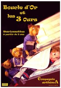 BOUCLE D'OR ET LES TROIS OURS - marionettes   Le Calepin